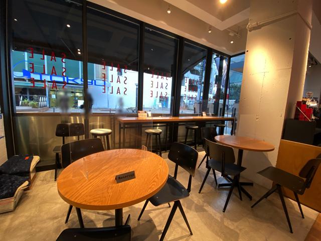 ベイフローカフェ(BAYFLOW CAFE)吉祥寺の店内