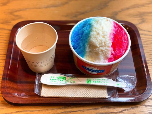 ベイフローカフェ(BAYFLOW CAFE)吉祥寺のかき氷