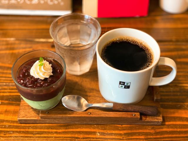 ブラックウェルコーヒー(Blackwell Coffee)の抹茶グラス