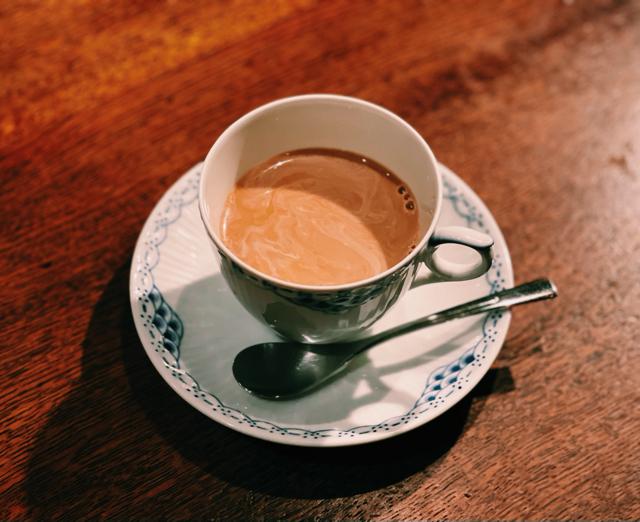 吉祥寺「くぐつ草」のコーヒー1