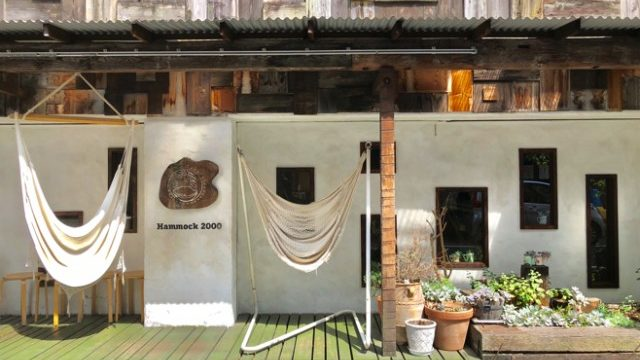 ハンモックカフェのマヒカマノ