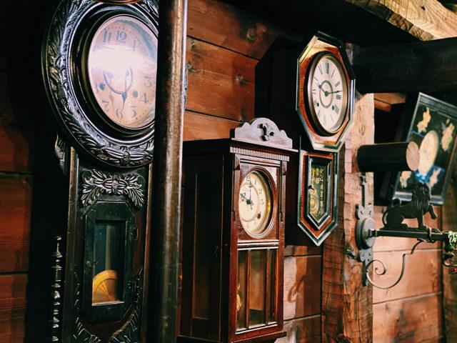 西荻窪「物豆奇(ものずき)」の時計