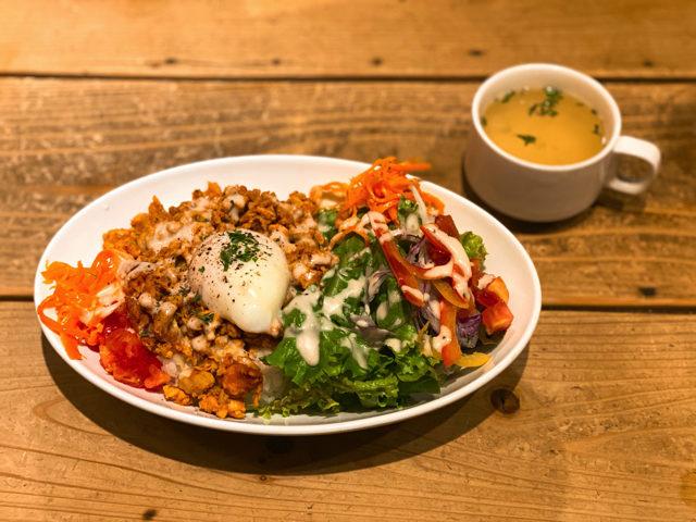 吉祥寺「タントビーノ」で食べたサラダメキシカンライスボウルランチ