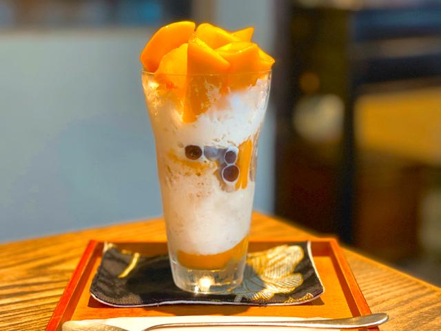 月和茶(ゆえふうちゃ)のかき氷3