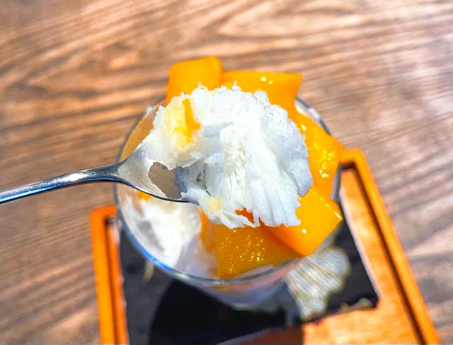 月和茶(ゆえふうちゃ)のかき氷4