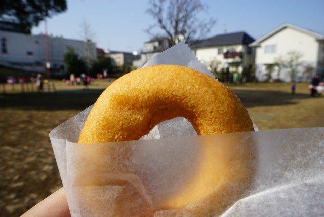 はらドーナッツ吉祥寺店の豆乳ドーナツ