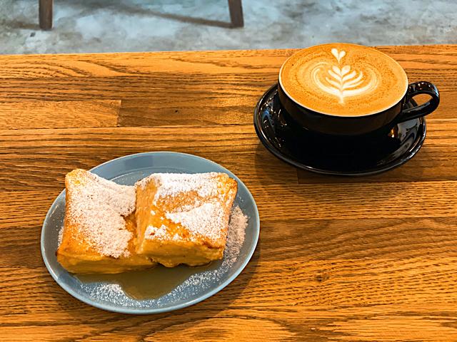 ノリズコーヒー(NORIZ COFFEE)のフレンチトースト