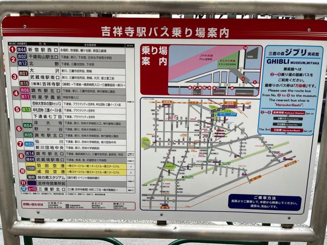 吉祥寺バス停南口