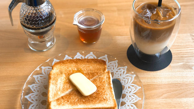 KYOROZAN COFFEEのトースト