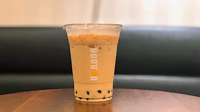 ドトールコーヒーのタピオカミルクティー
