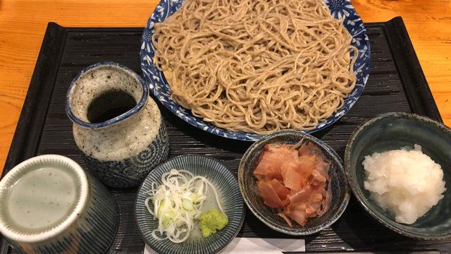 三鷹の手打ち蕎麦 太古福(たこふく)