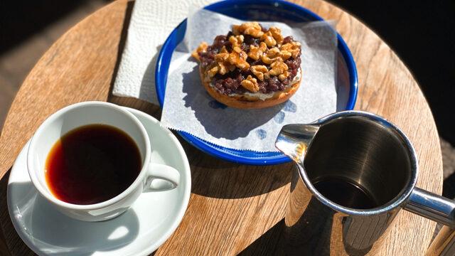 吉祥寺「アンドウコーヒー(andoh coffee)」のベーグルとコーヒー