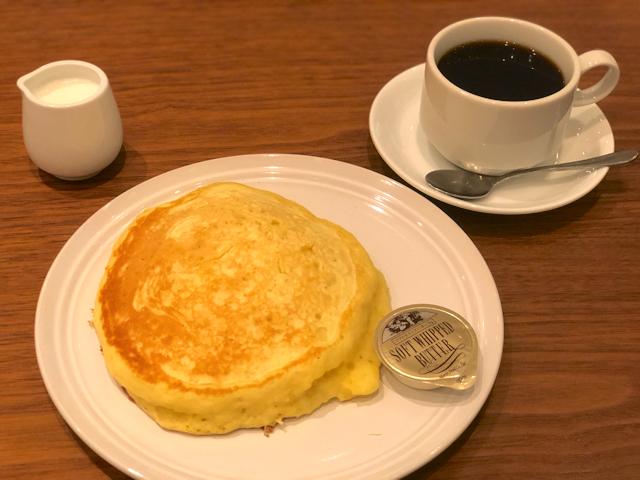 カフェフェルマータのパンケーキ