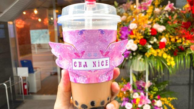 CHA nice(チャナイス)のタピオカミルクティー