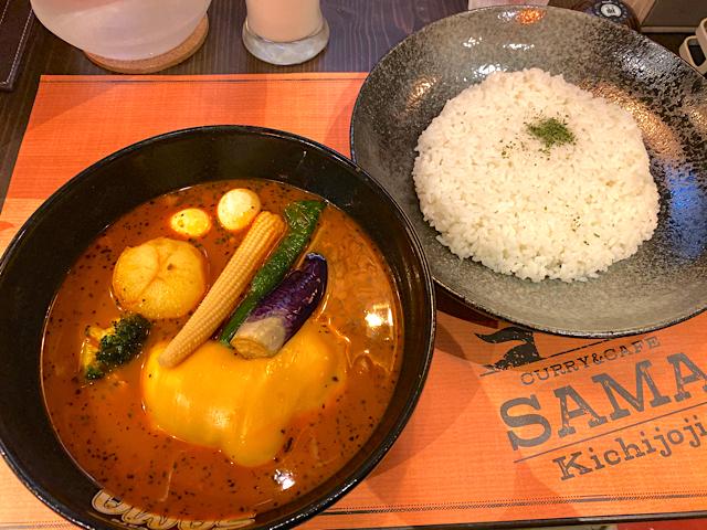 SAMA吉祥寺店のスープカレー