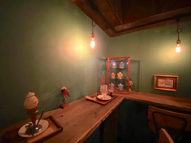 西荻窪「sweet olive 金木犀茶店」の店内