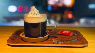 吉祥寺ザッカフェのウインナーコーヒー