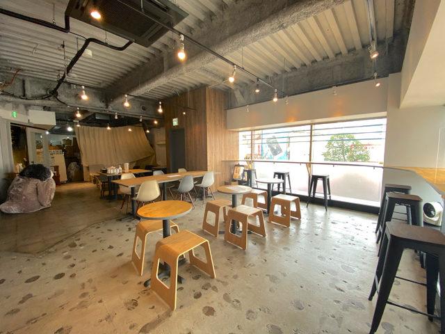 吉祥寺ザッカフェのカフェスペース