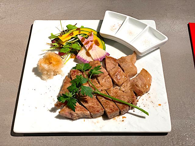 鉄板マフィア uni&beef 吉祥寺店の四限豚ランチ