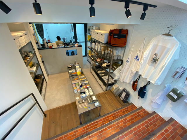 STAYFUL LIFE STOREの店内