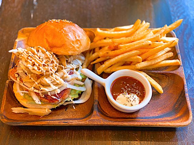コックテイル ハンバーガーズのハンバーガー