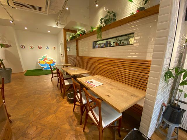 はらぺこあおむしカフェ in 吉祥寺の店内1