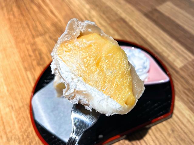 吉祥寺「flower&cafe あっとほーむ」のスイーツ大福2