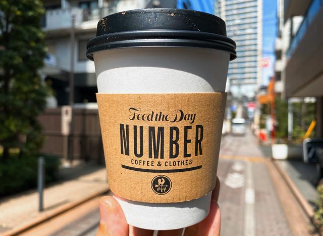 NUMBER(ナンバー)吉祥寺店のフラットホワイト
