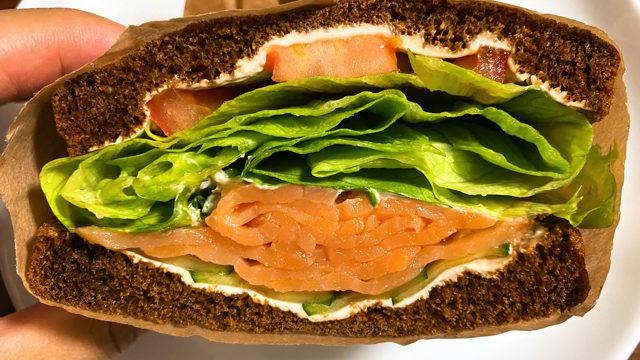 バチカフェ(BATI cafe)のサンドイッチ