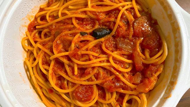 カプリチョーザのスパゲティ
