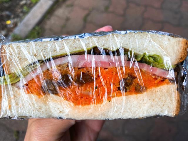 芙葉亭(ふようてい)のサンドイッチ
