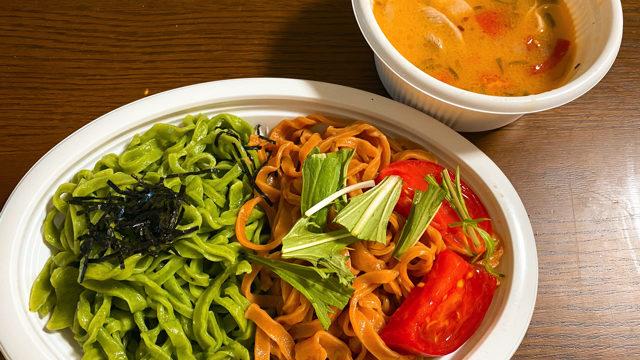 味の彩華のつけ麺