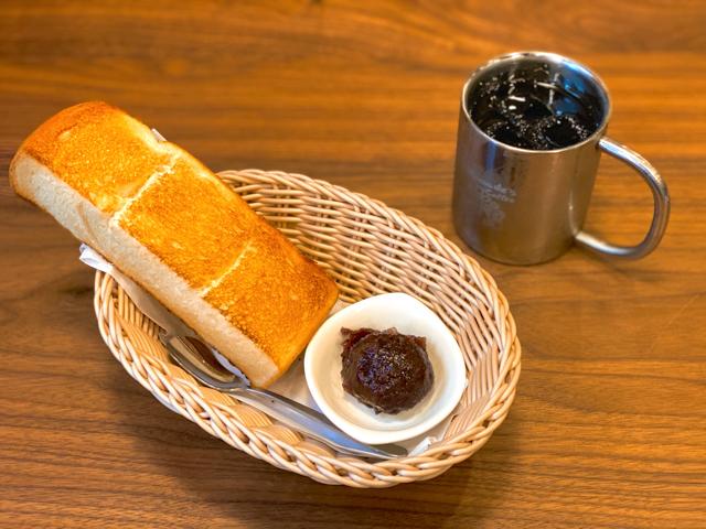 コメダ珈琲店 吉祥寺西口店のモーニングトースト