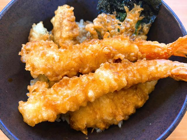 くら寿司のランチの天丼
