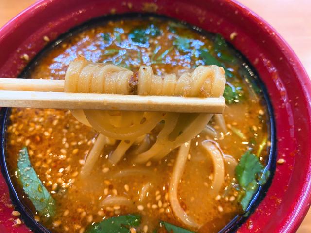 くら寿司の坦々麺