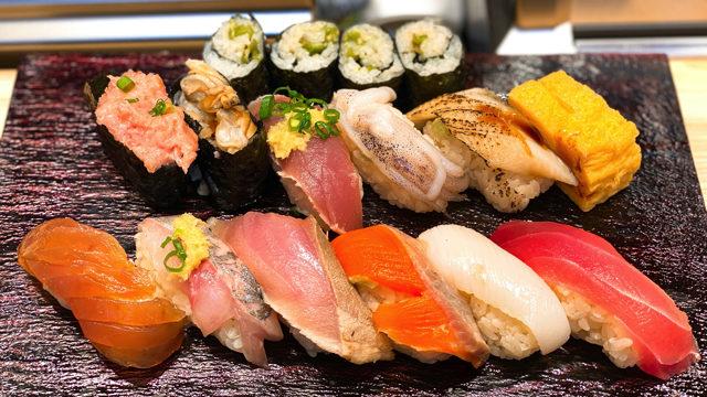 立ち寿司横丁 吉祥寺店の平日ランチ