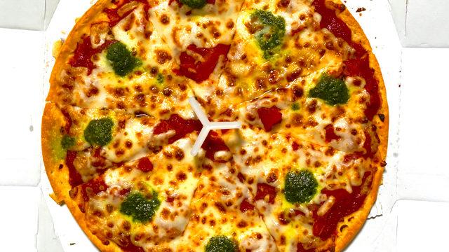 ピザハット吉祥寺店のマルゲリータピザ
