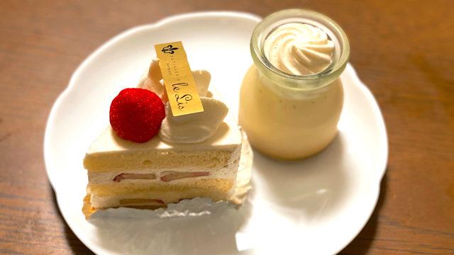 フランス菓子ル・リスのスイーツ