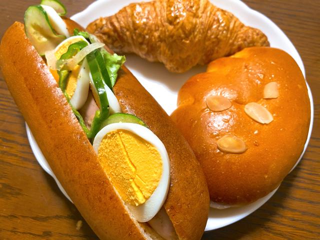 ベーカリー オーフェンのパン