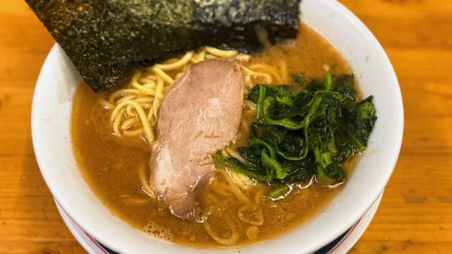 横浜家系らーめん つばさ家 武蔵境店のラーメン