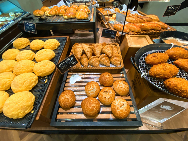 リニューアル!クラウンベーカリー 三鷹店のパン
