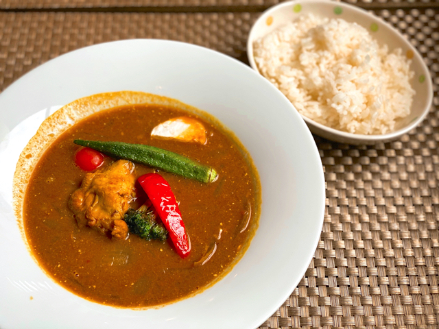MUSASHI境 CURRY HOUSE&アジアンダイニング斗華のスープカレー