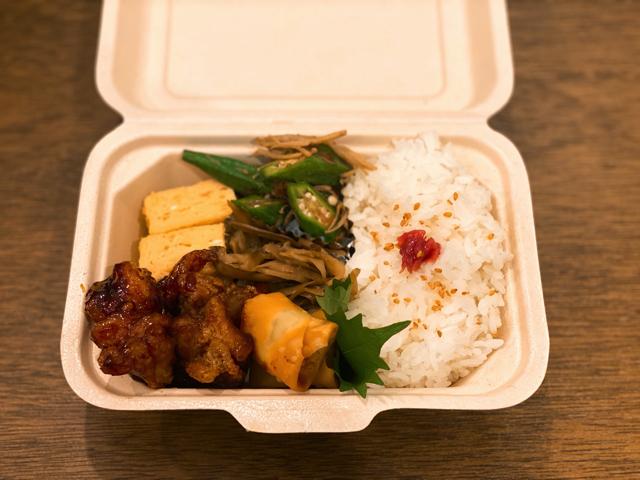 西荻窪の「日常軒」のお弁当