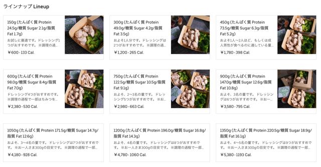 究極のブロッコリーと鶏胸肉 吉祥寺店のメニュー