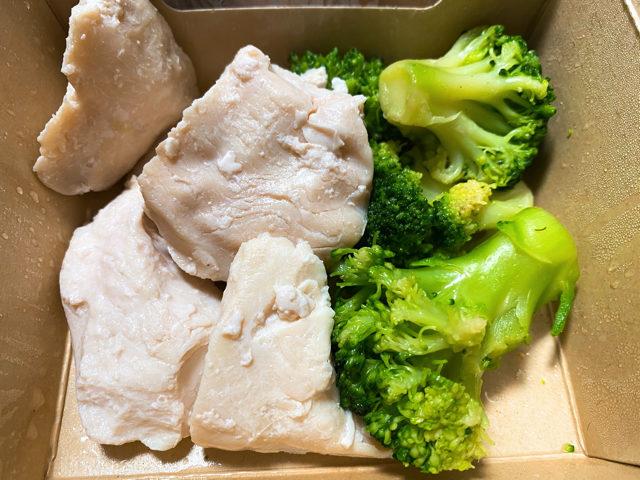 究極のブロッコリーと鶏胸肉 吉祥寺店のフード