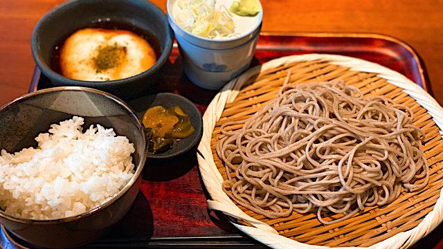 吉祥寺の「庄三郎」のお蕎麦