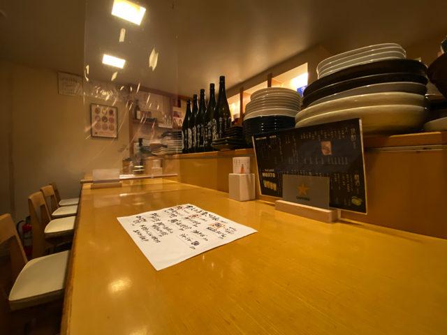 おでんと和食の店 食彩工房 舎人(とねり)吉祥寺店の店内1