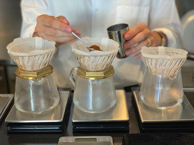西荻窪「浅煎りコーヒーと自然派ワイン Typica(ティピカ)」のコーヒー2