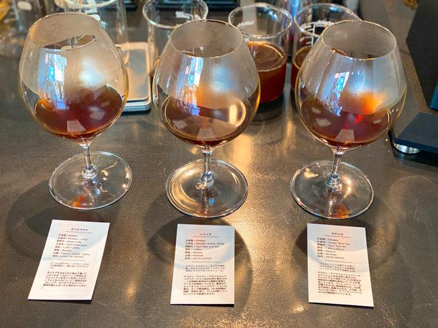 西荻窪「浅煎りコーヒーと自然派ワイン Typica(ティピカ)」のコーヒー
