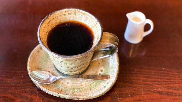 西荻窪「カフェモナミ」のコーヒー